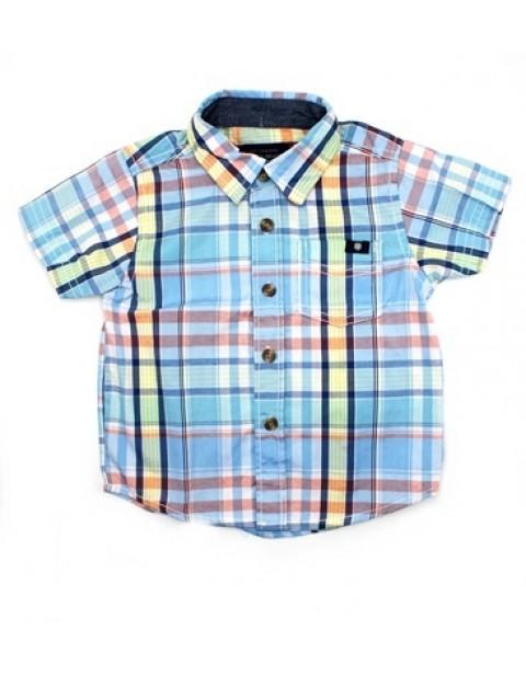 Lucky Brand Shortsleeve Check Shirt