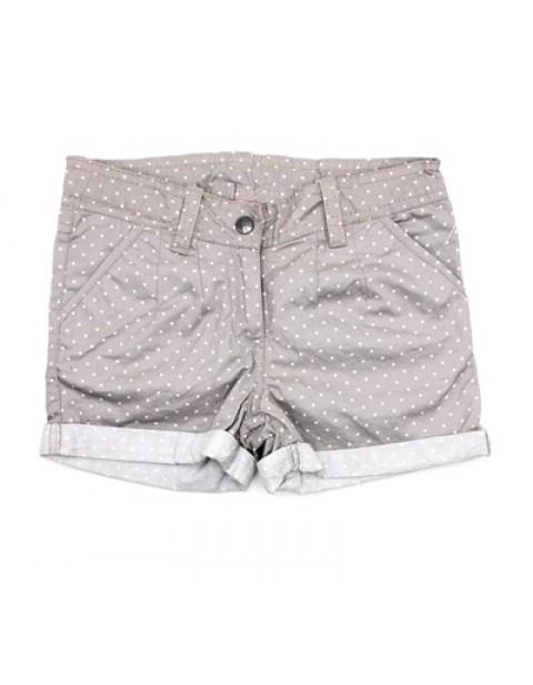 NKY Turnup Girls Shorts With PolkaDots