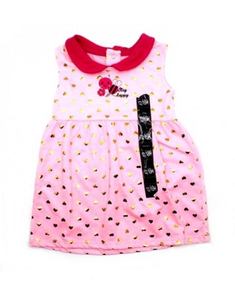 Stay Happy Baby Girl Dress