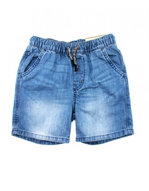 Zara Boys Jean Shorts With Waist Adjustments