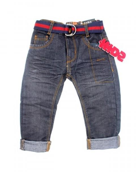 Zara Boys Skinny Jeans With Belt