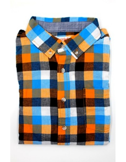 Cat and Jack Draf Longsleeve in Check