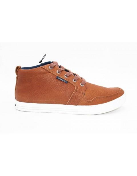 Jack & Jones Hightop Sneakers-Golden Brown