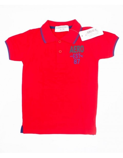 Aeropostale Kids Polo-Red