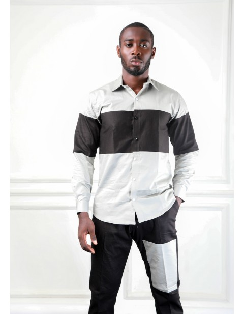 BH Casual Shirt With Western Pocket Pants