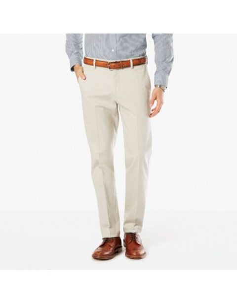 Dockers Signature Straight Fit Khaki Chinos-Cloud