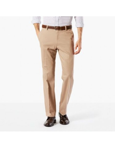 Dockers Signature Straight Fit Khaki Chinos-Timber wolf