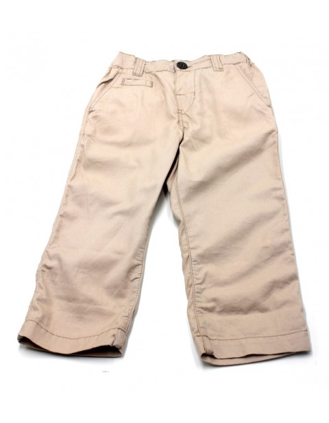 H&M Male Kids Slim Fit Chinos-Cream