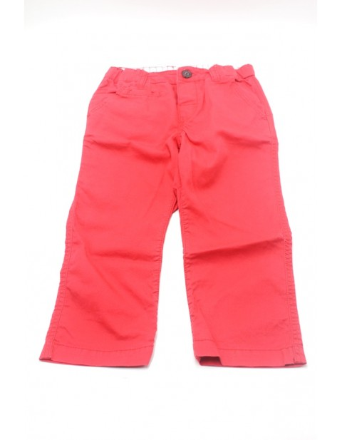 H&M Male Kids Slim Fit Chinos-Red
