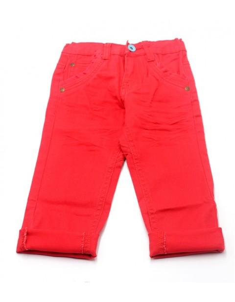 Okaidi Classic female Kids Jeans-Red