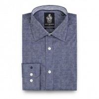 Jeff Banks Tailored Fit Shirt in Aztec Design