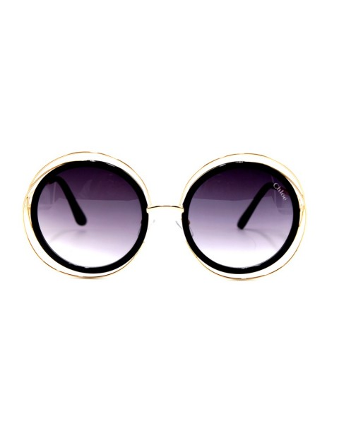 Chloe New Design Female Eyewear in Gold Frame
