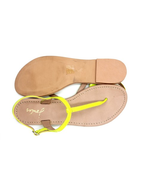 Joules Women Simeone Sandals-Lemon