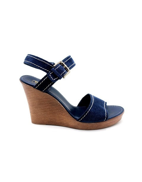 Dune Kamella Peep toe Wedge sandals