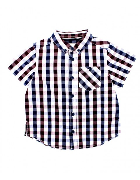 Matalan One Side Pocket Kids Shortsleeve Shirt