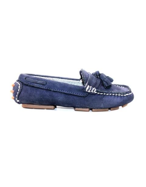 Zara Kids Footwear Loafers With Tassels - Navy Blue