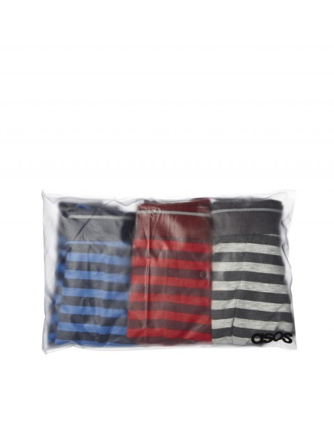 3 Pack Trunks with Stripe Design