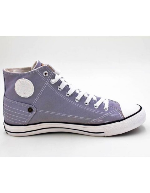 Carrera Jeans Hightop Sneakers-Grey