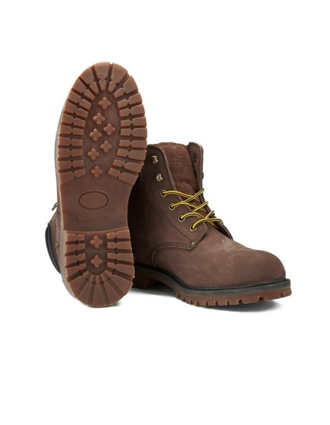 Jack & Jones Men's Stoke Nubuck Boots - Brown Stone