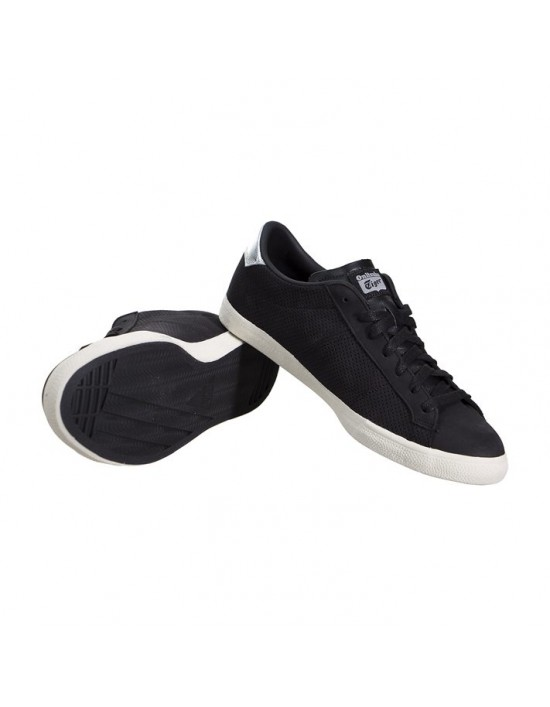 competitive price 3a3f4 a4736 Onitsuka Tiger|-Asics Onitsuka Tiger Lawnship Black Sneakers ...