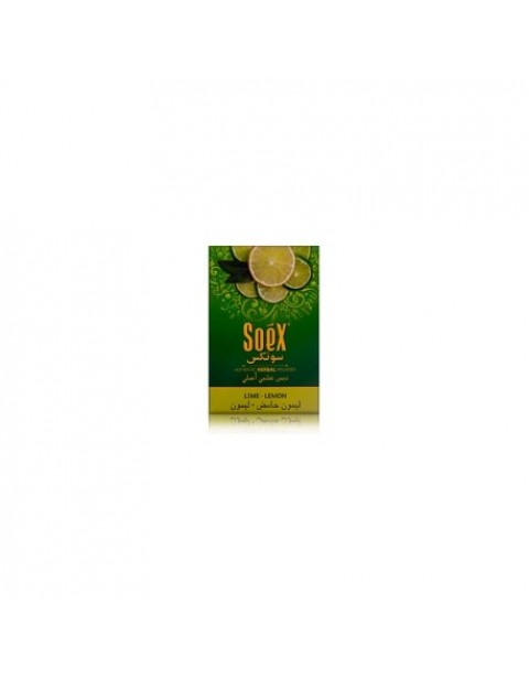 SOEX SHISHA MOLASSES WITH LIME-LEMON FLAVOUR