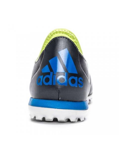 adidas Cage TF Dark Grey Shock Blue Semi Solar Slime