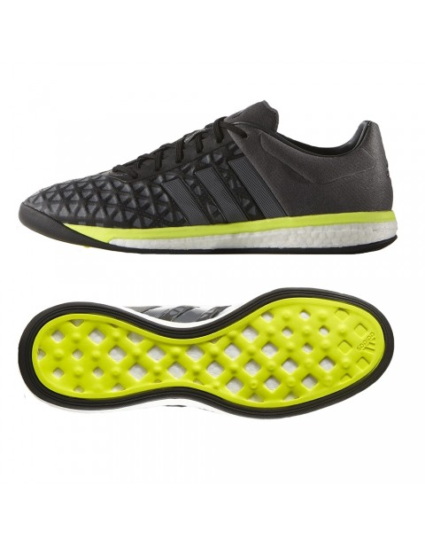 adidas ACE 15.1 Boost - Core Black/Night Metallic/Solar Yellow
