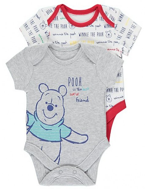 Disney Winnie the Pooh 2 Pack Bodysuits