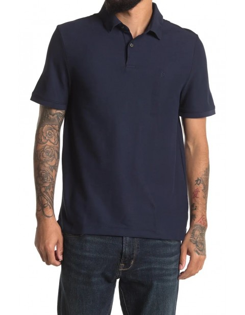 DKNY Stacked Logo Polo