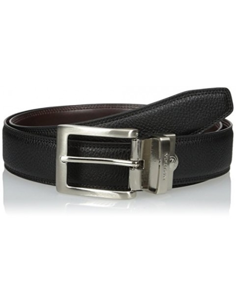 NAUTICA MEN'S REVERSIBLE FEATHER EDGE PADDED BELT