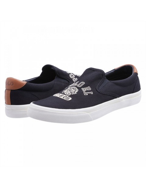 POLO RALPH LAUREN SNEAKERS NAVY BLUE