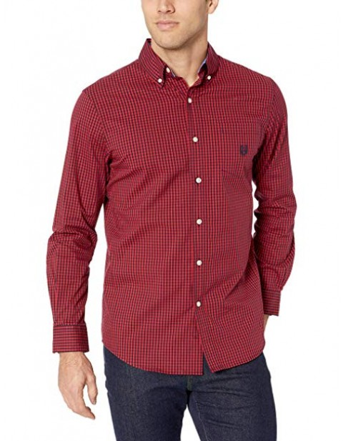 CHAPS EASY CARE LONG SLEEVE SHIRT