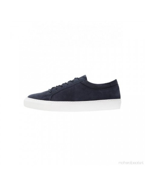 JACK AND JONES GALAXY SUEDE NAVY BLAZER SNEAKERS