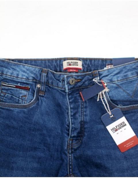 Blue Tommy Hilfiger Slim Fit Jean