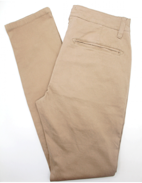 Threadbare denim chinos trouser