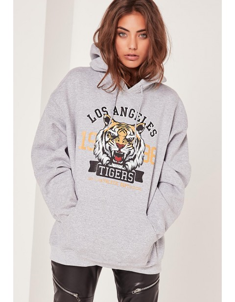LA Tigers Sweatshirt Grey