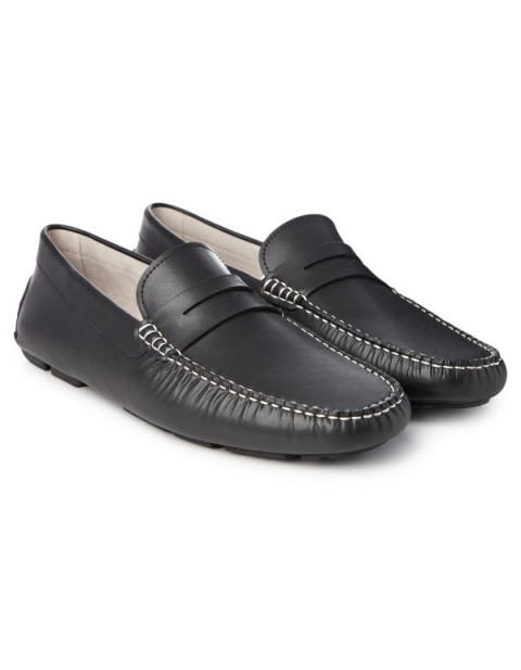 Pierre Cardin Black Loafers & Moccasian