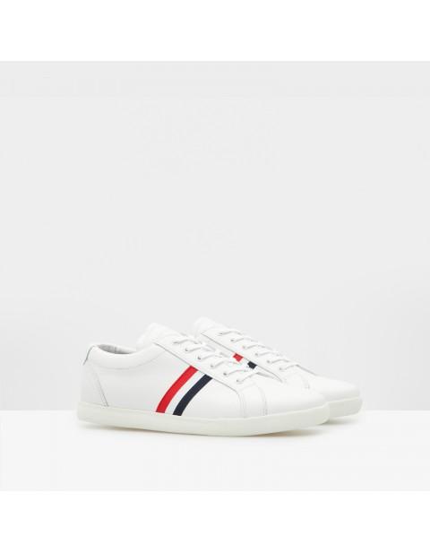 purificacion white sneakers