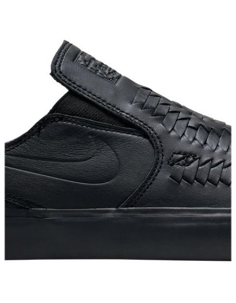 Nike SB Zoom Stefan Janoski Slip RM Crafted Woven Black