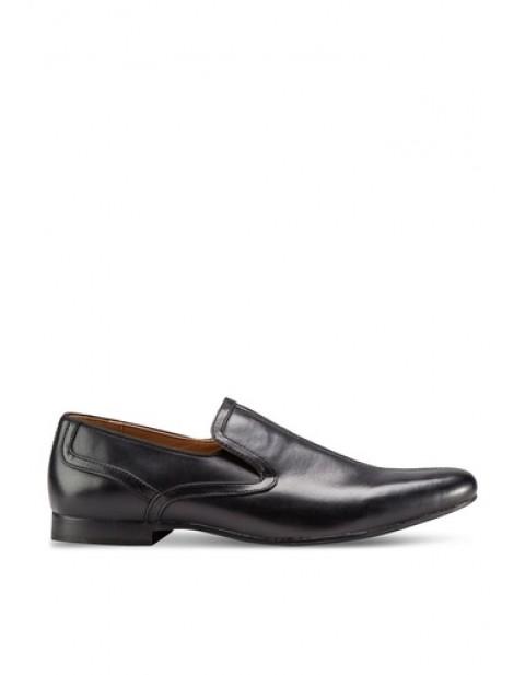 Black Smart Slip On Shoes