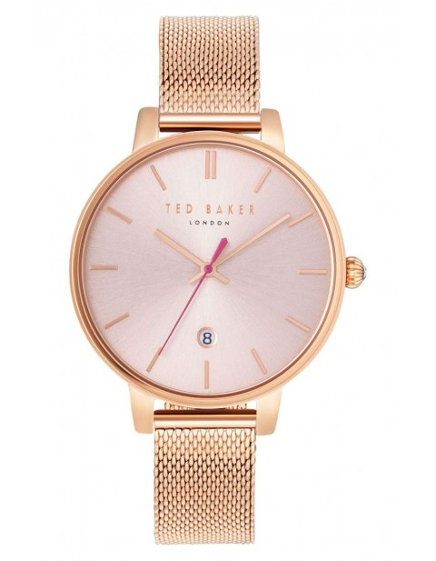 Ted Baker Kate Round Mesh Strap Watch, 38mm