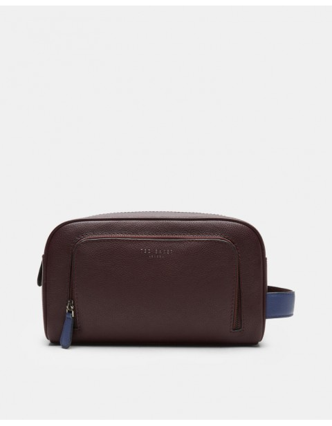 Ted Baker MOOFASA Leather wash bag