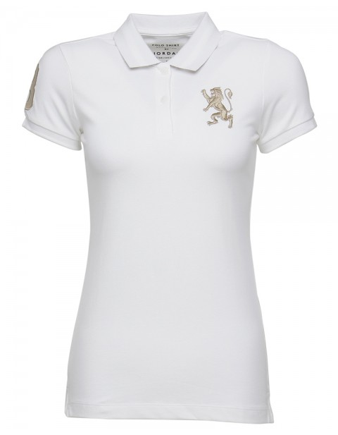 GIORDANO WOMEN'S 3D LION POLO
