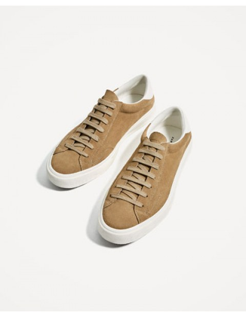 SOFT LEATHER PLIMSOLLS