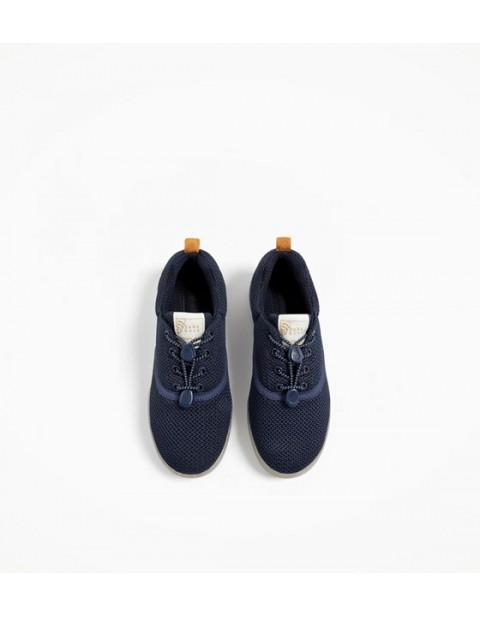 zara blue sneakers footwear