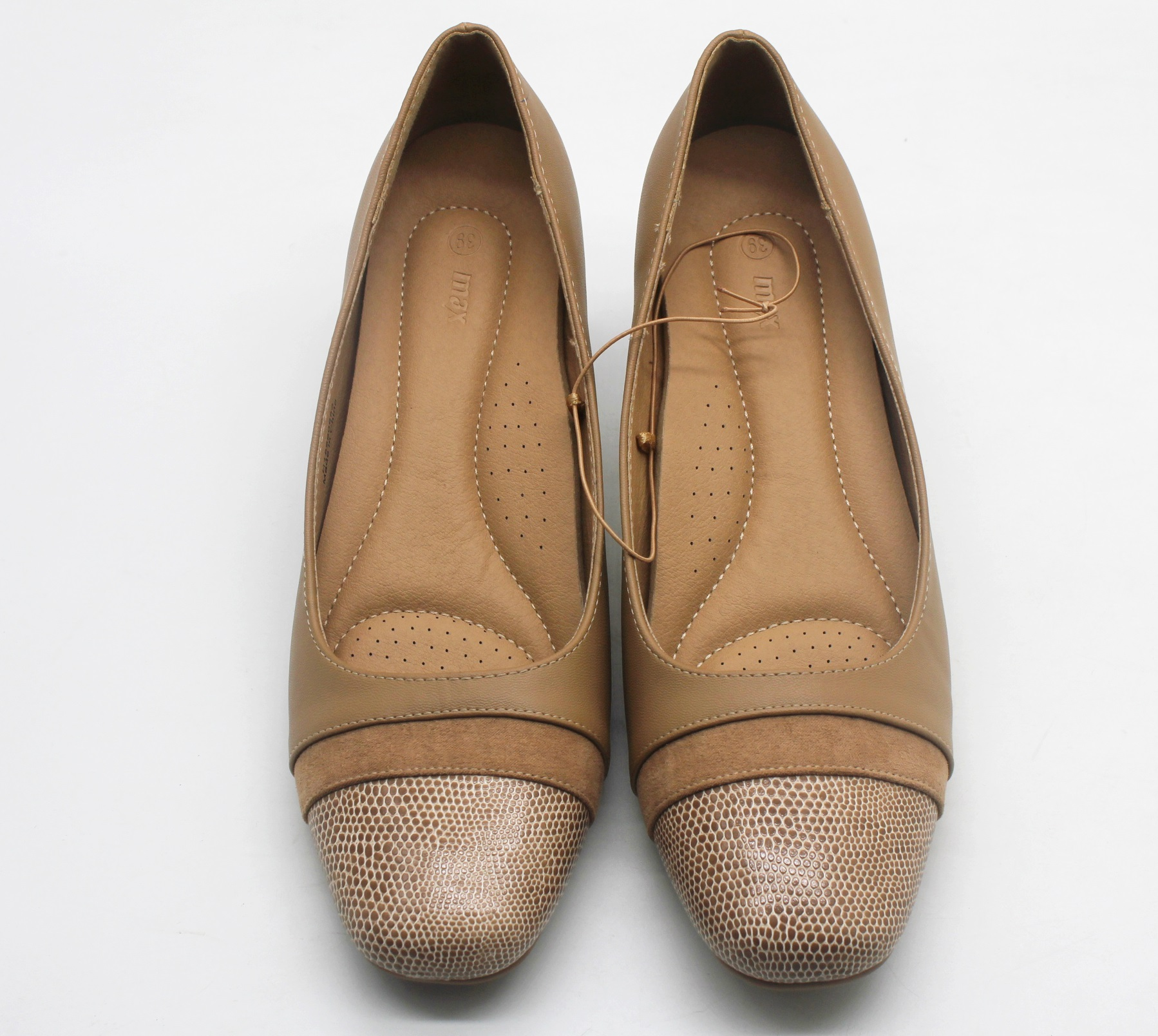 a57d2705df77 MAX SHOE WITH BLOCK HEEL Quick View